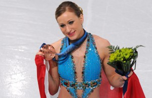 Joannie Rochette did Canada proud in 2010 in Vancouver (image credit: canada.com).
